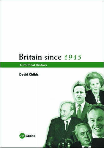 Britain since 1945 A Political History book cover
