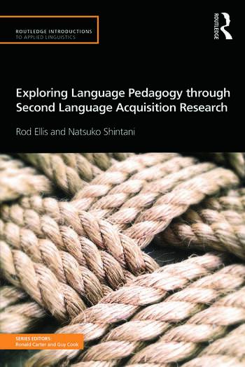 Exploring Language Pedagogy through Second Language Acquisition Research book cover