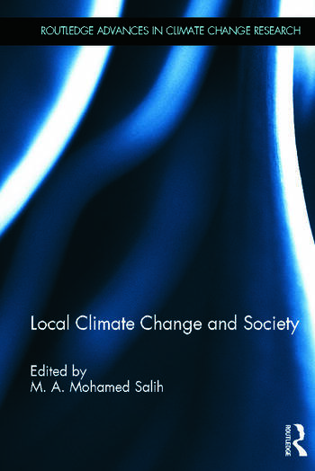 Local Climate Change and Society book cover