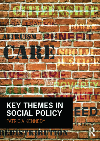 Key Themes in Social Policy book cover