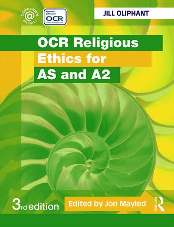 OCR Religious Ethics for AS and A2 book cover