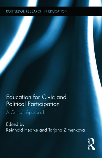 Education for Civic and Political Participation A Critical Approach book cover