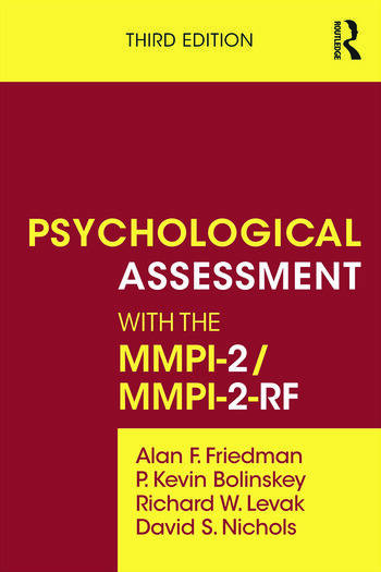 Psychological Assessment with the MMPI-2 / MMPI-2-RF book cover
