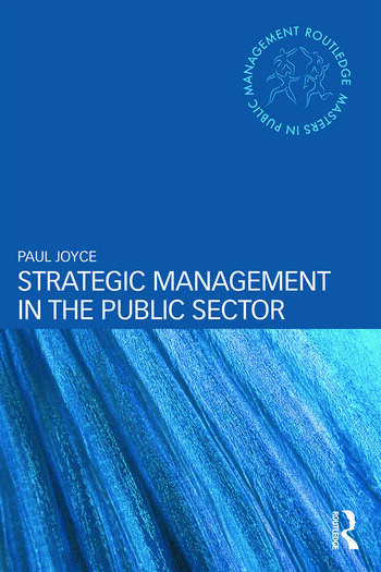 Strategic Management in the Public Sector book cover