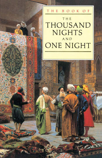 The Book of the Thousand and One Nights book cover