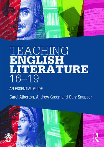 Teaching English Literature 16-19 An essential guide book cover