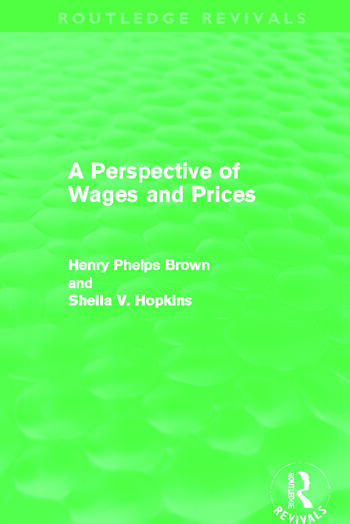 A Perspective of Wages and Prices (Routledge Revivals) book cover