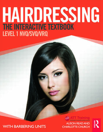Hairdressing: Level 1 The Interactive Textbook book cover