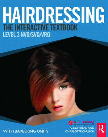 Hairdressing: Level 3 The Interactive Textbook book cover