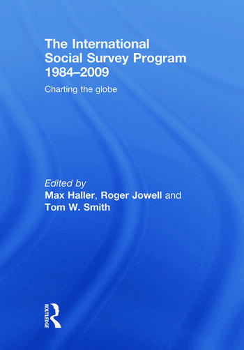The International Social Survey Programme 1984-2009 Charting the Globe book cover