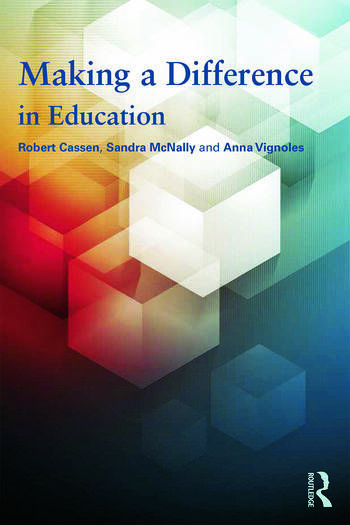 Making a Difference in Education What the evidence says book cover