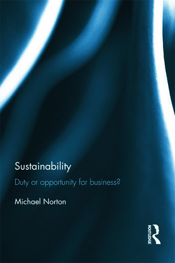 Sustainability Duty or Opportunity for Business? book cover
