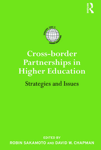 Cross-border Partnerships in Higher Education Strategies and Issues book cover