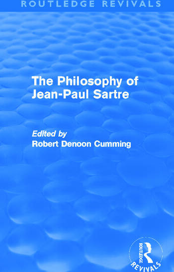The Philosophy of Jean-Paul Sartre (Routledge Revivals) book cover