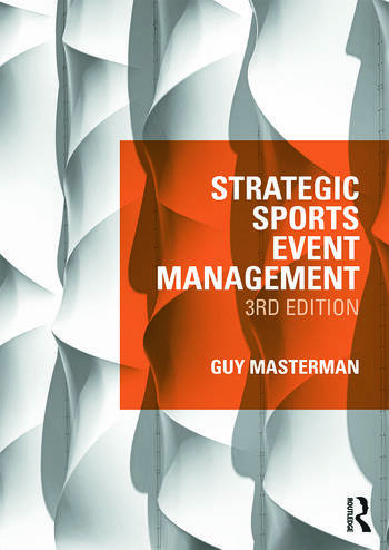 Strategic Sports Event Management Third edition book cover