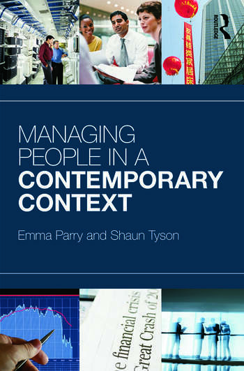 Managing People in a Contemporary Context book cover