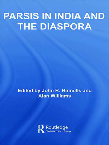 Parsis in India and the Diaspora book cover