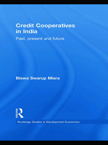 Credit Cooperatives in India Past, Present and Future book cover