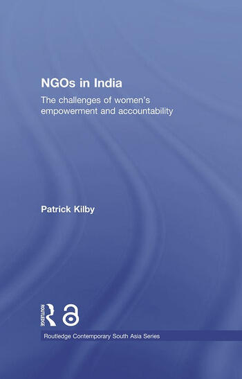 NGOs in India The challenges of women's empowerment and accountability book cover
