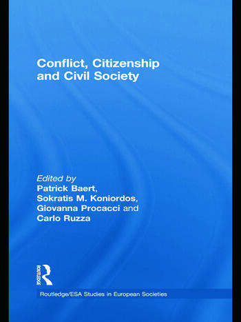 Conflict, Citizenship and Civil Society book cover