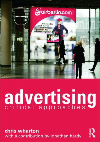 Advertising Critical Approaches book cover