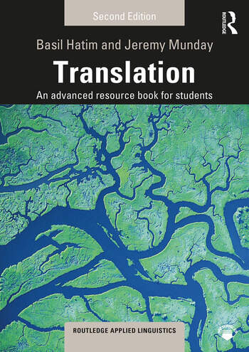 Translation An advanced resource book for students book cover