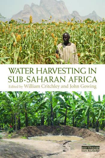 Water Harvesting in Sub-Saharan Africa book cover
