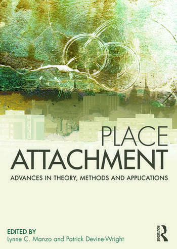 Place Attachment Advances in Theory, Methods and Applications book cover