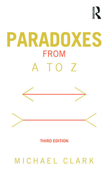 Paradoxes from A to Z book cover