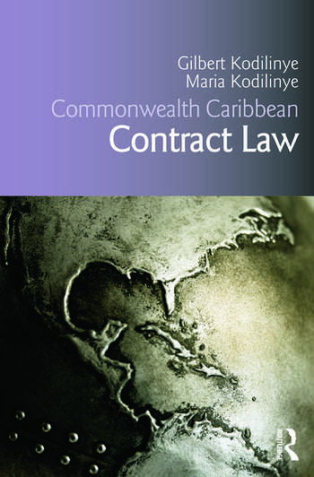 Commonwealth Caribbean Contract Law book cover