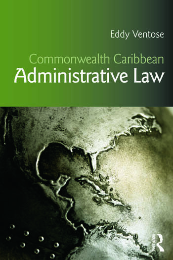 Commonwealth Caribbean Administrative Law book cover