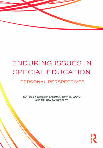 Enduring Issues In Special Education Personal Perspectives book cover