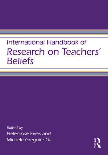 International Handbook of Research on Teachers' Beliefs book cover