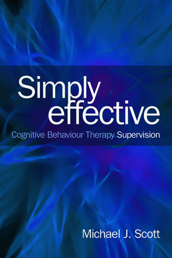 Simply Effective CBT Supervision book cover