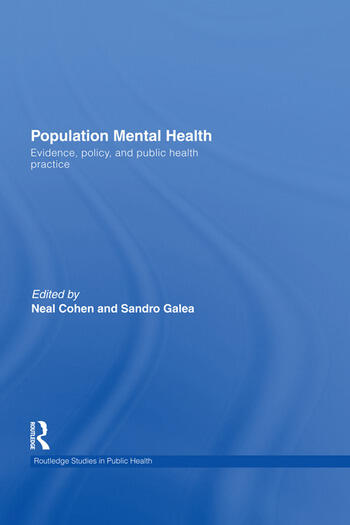 Population Mental Health Evidence, Policy, and Public Health Practice book cover
