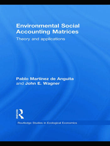 Environmental Social Accounting Matrices Theory and applications book cover