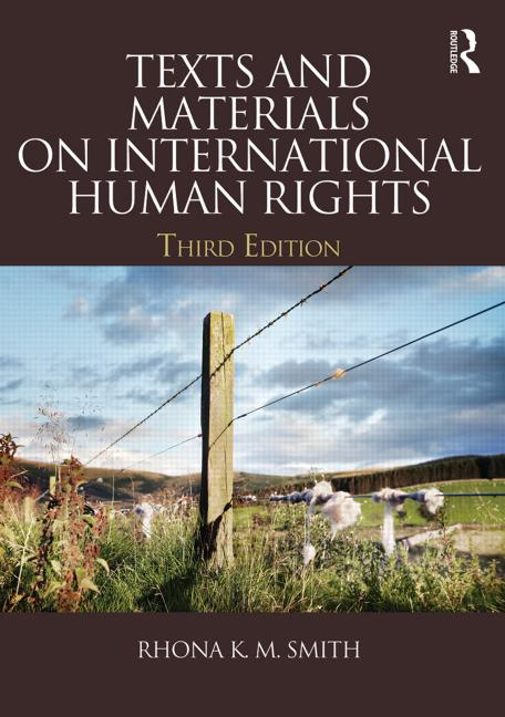 Texts and Materials on International Human Rights book cover