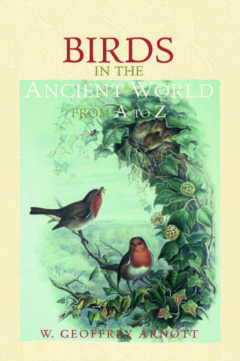 Birds in the Ancient World from A to Z book cover
