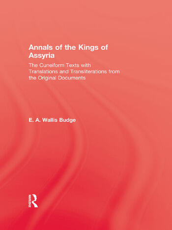Annals Of The Kings Of Assyria book cover