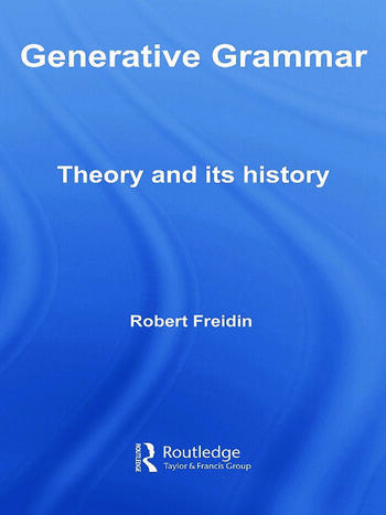Generative Grammar Theory and its History book cover