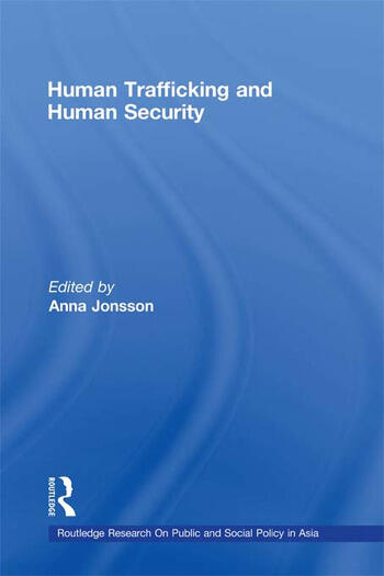 Human Trafficking and Human Security book cover