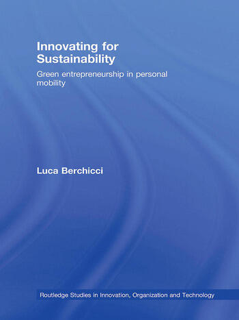 Innovating for Sustainability Green Entrepreneurship in Personal Mobility book cover
