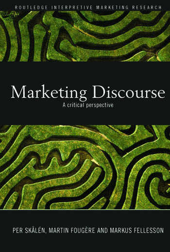 Marketing Discourse A Critical Perspective book cover