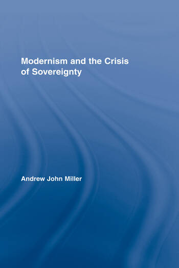 Modernism and the Crisis of Sovereignty book cover