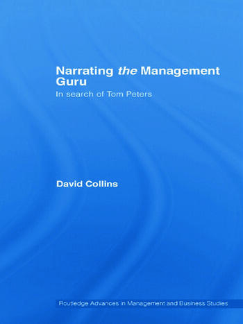 Narrating the Management Guru In Search of Tom Peters book cover