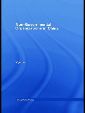 Non-Governmental Organisations in China book cover