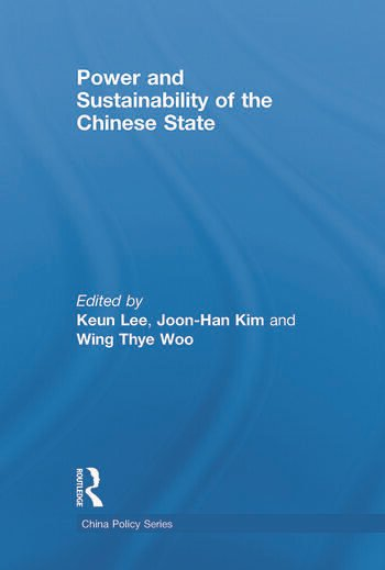 Power and Sustainability of the Chinese State book cover