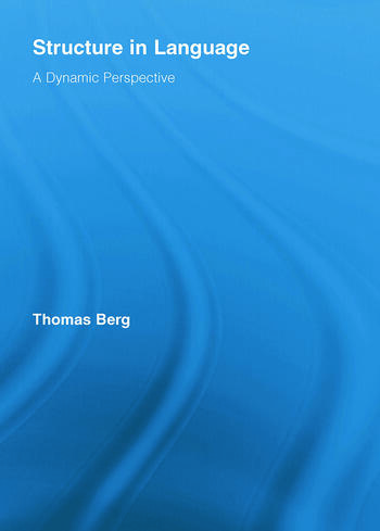 Structure in Language A Dynamic Perspective book cover
