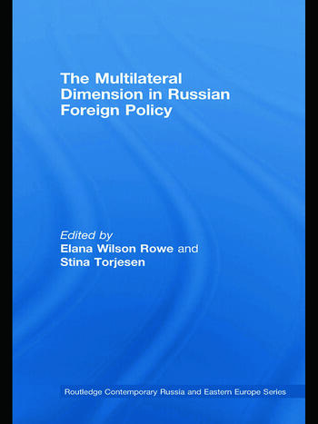 The Multilateral Dimension in Russian Foreign Policy book cover