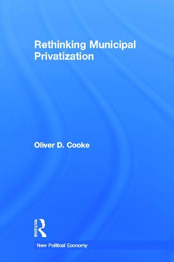Rethinking Municipal Privatization book cover